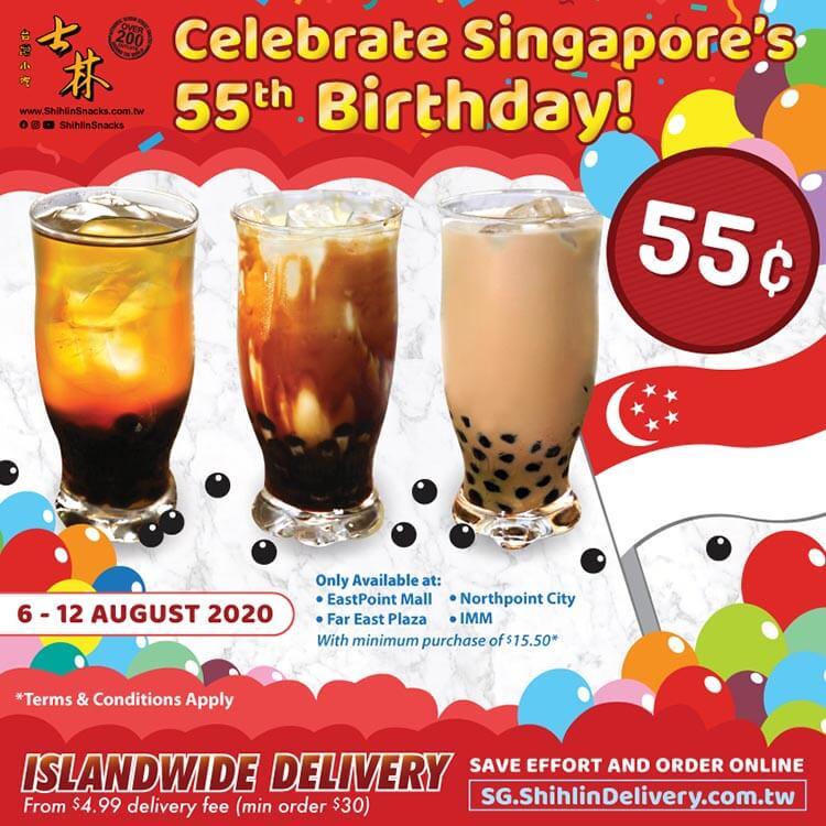 Rayakan Ulang Tahun ke-55 Singapura