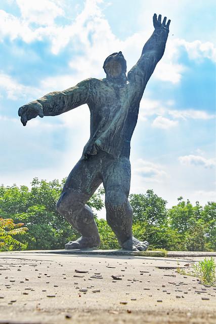 Statue at Memento Park, Budapest, Hungary