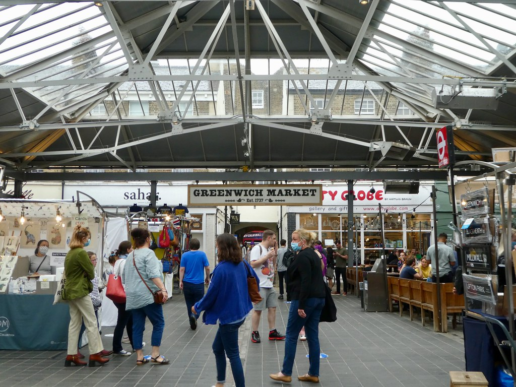Inside Greenwich Market
