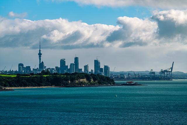 City, Port, Headlands and Harbour