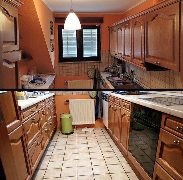 Küche Ist-Zustand