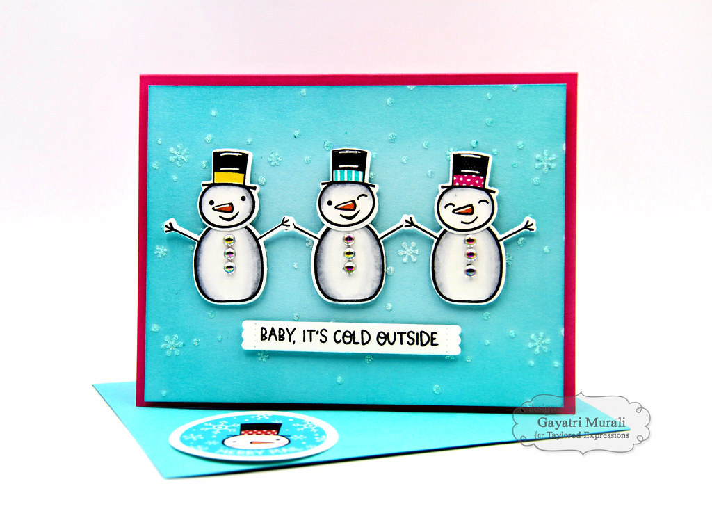 Baby It's Cold OUtside kit card #2