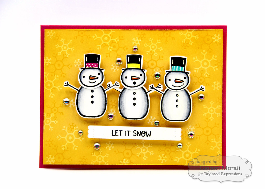 Baby It's Cold OUtside kit card #3
