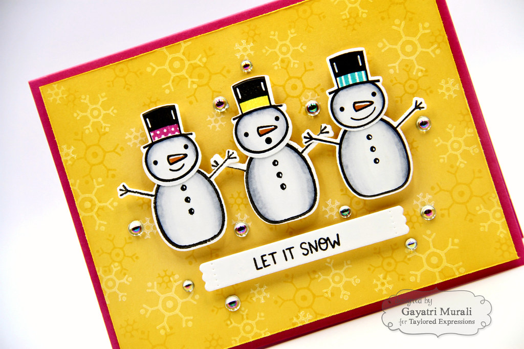 Baby It's Cold OUtside kit card #3 closeup1