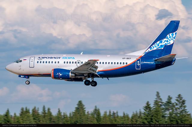 Aeroflot Nord, Boeing 737-500 (VP-BKP)(25065)