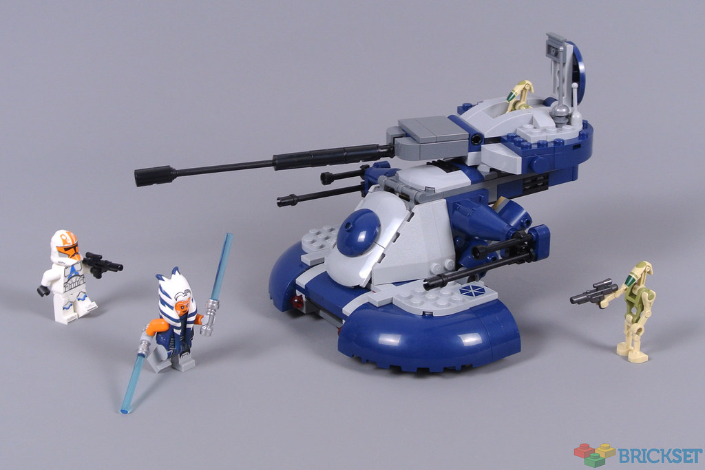 Review: 75283 Armoured Assault Tank (AAT) | Brickset: LEGO set guide and  database