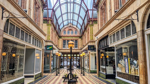 Inside the ornate Victorian Miller Arcade at Preston | by Tony Worrall