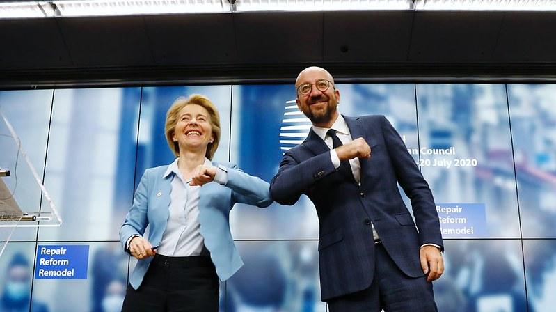 Ursula von der Leyen und Charles Michel