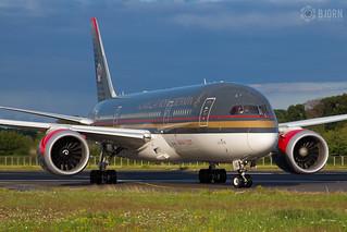 JY-BAG Boeing 787-8 Dreamliner Royal Jordanian, Maastricht Aachen Aiport - EHBK/MST