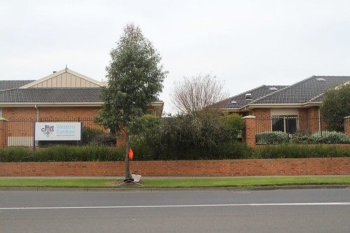 'Western Gardens' nursing home at 40 Anderson Road, built on the site of Graham Street South and the Sunshine Technical College