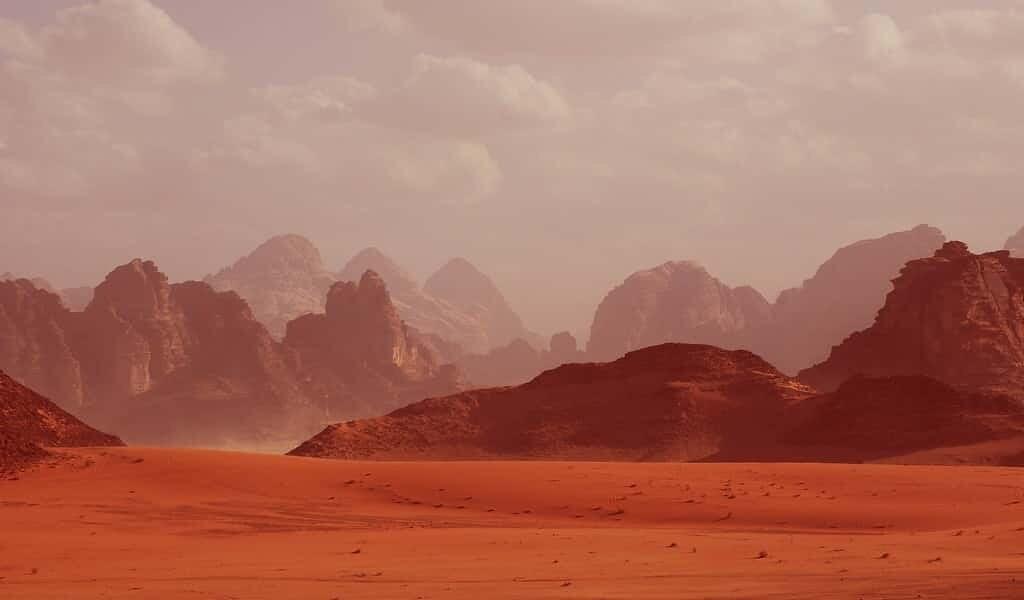 La vie pourrait prospérer sous la planète Mars