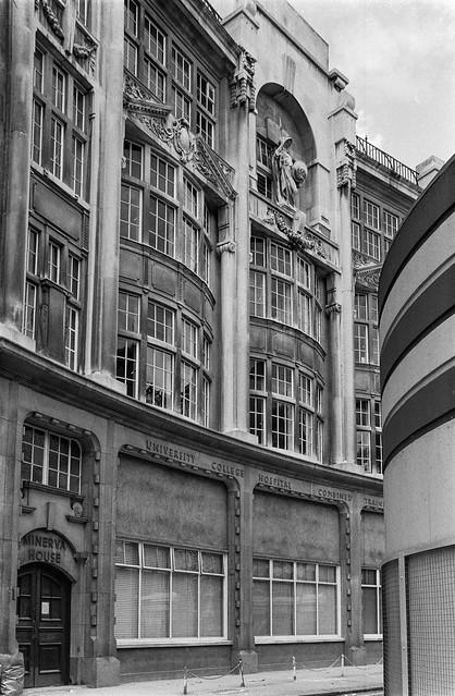 Minerva House, North Crescent, Chenies St, Camden, 1987 87-7f-21-positive_2400