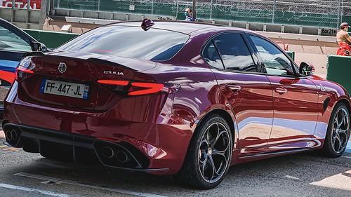 Track Days Tinseau Le Mans Bugatti Alfa Romeo Quadrifoglio