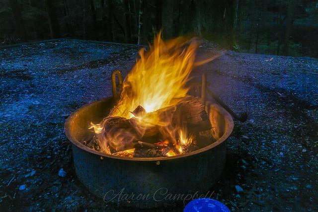 Campfire II (Friday evening), 2020.07.24