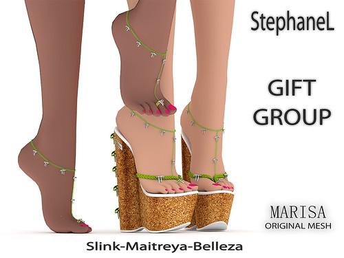 GIFT [StephaneL] SHOES MARISA-ANKLET