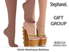 GIFT [StephaneL] SHOES MARISA-ANKLET
