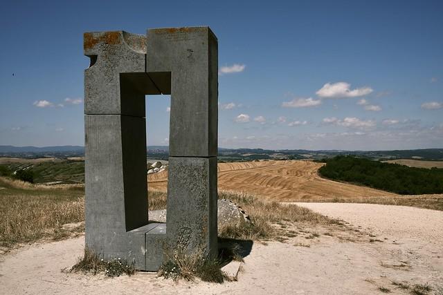 Siena attraverso il Site Transitoire, Asciano