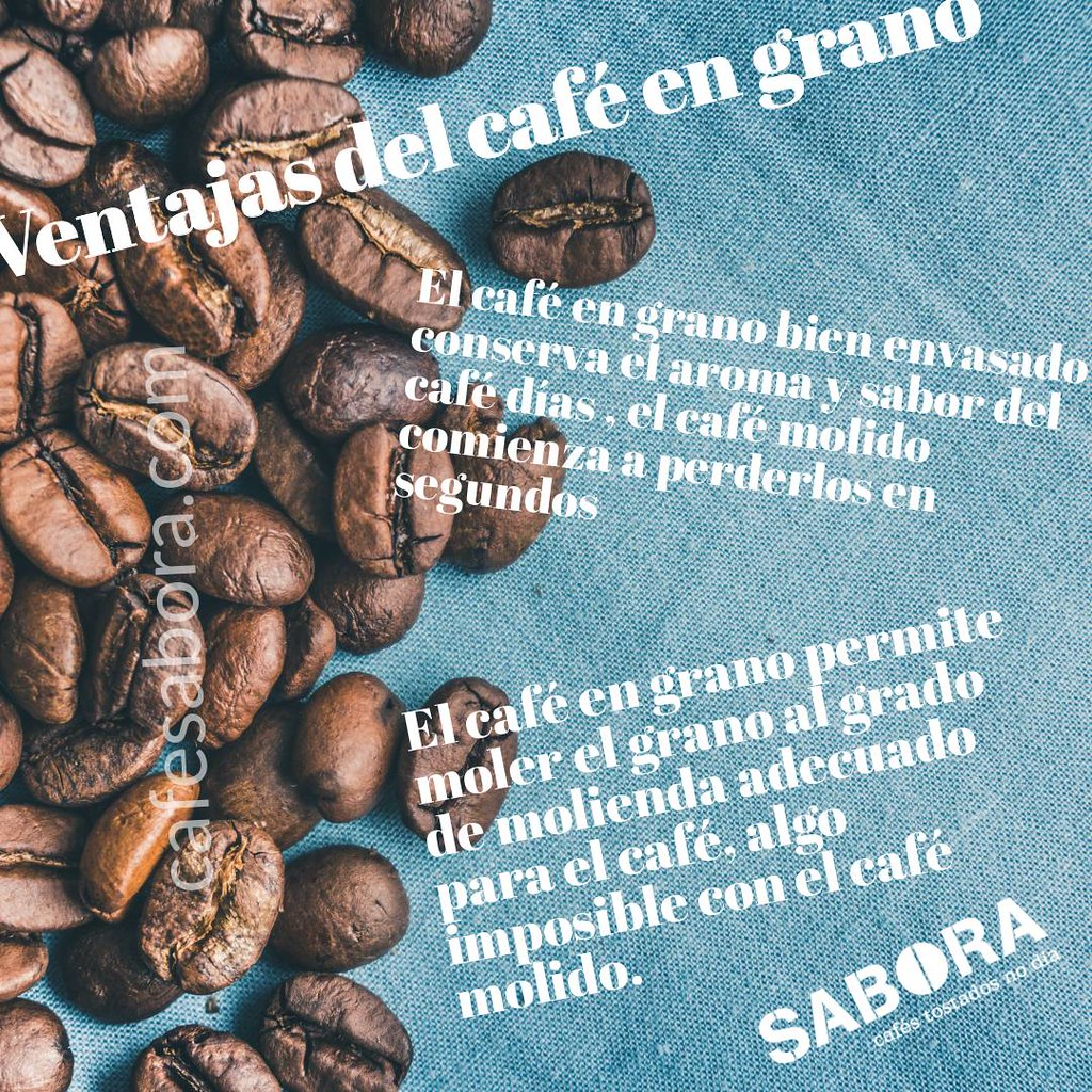 Ventajas del café  en grano para tu café