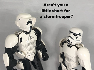 Too short to be a stormtrooper? | by Unkar's Thug