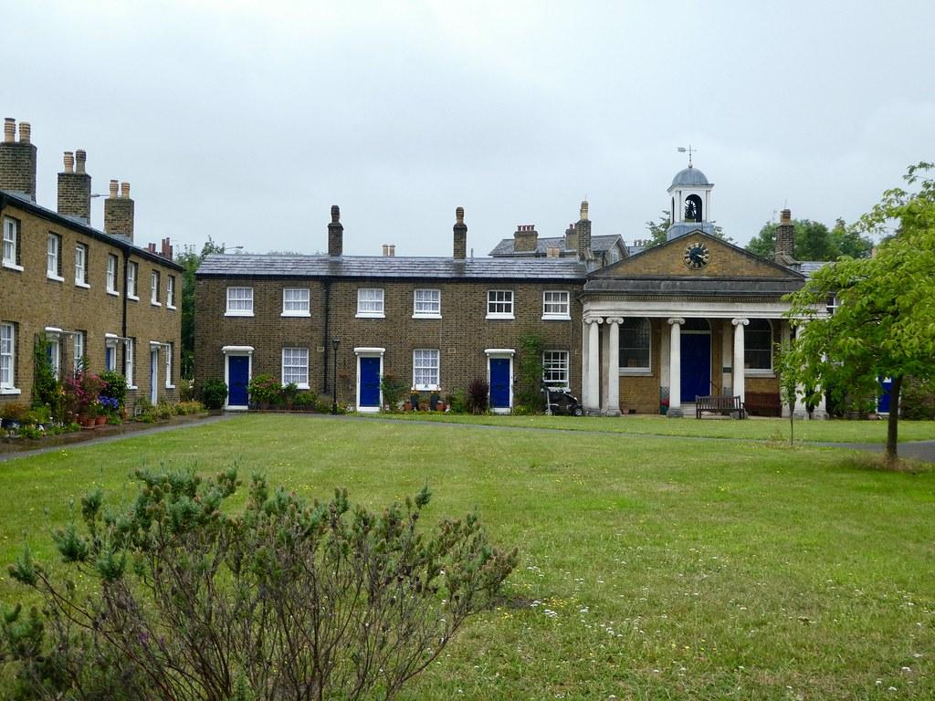 Queen Elizabeth College Almshouses Greenwich