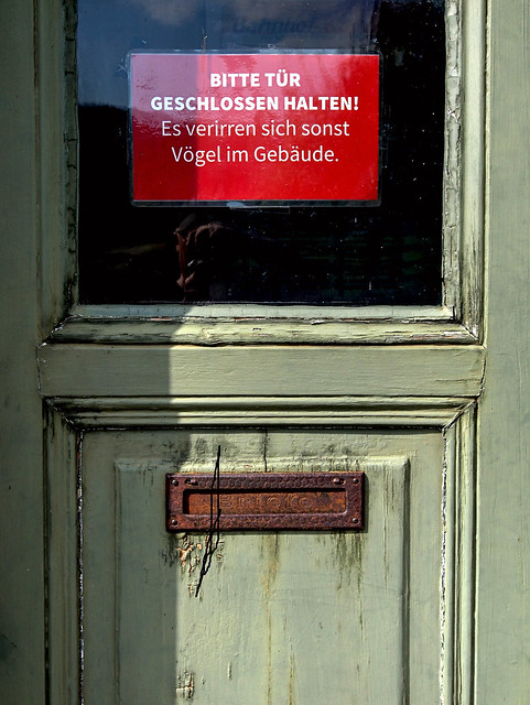 Tür zu...!