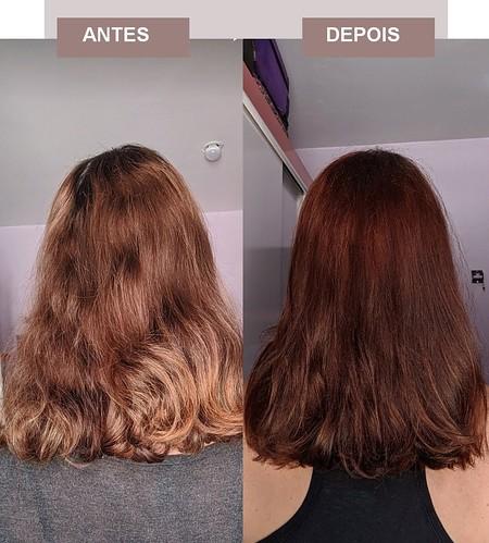 antes e depois costas Koleston 64