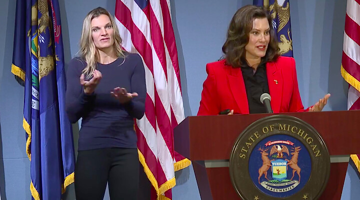 Whitmer Calls for Federal Mask Mandate and a COVID Recovery Plan