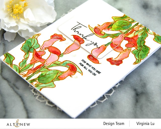 Altenew-PAF Calla Lily-Rounded RectanglesDie#3