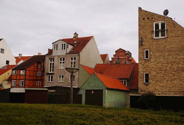 Houses in the Danish provincial town of Elsinore
