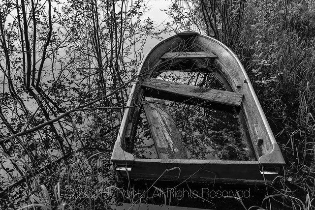 Abandoned Boat in Michigan's Upper Peninsula