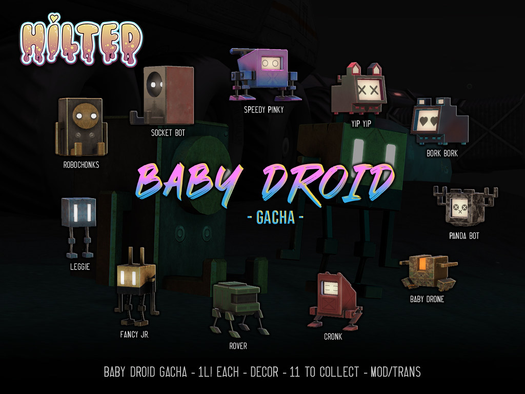 HILTED – Baby Droid