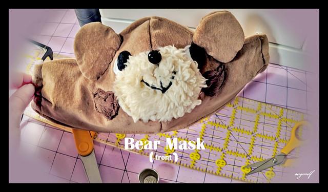 bear mask🐻