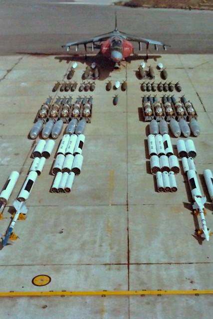 AV-8B Harrier II ordnance
