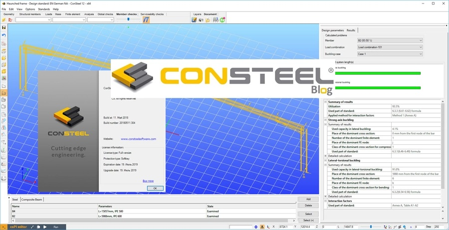 Working with KESZ ConSteel v12 Build 2018-05-11 full