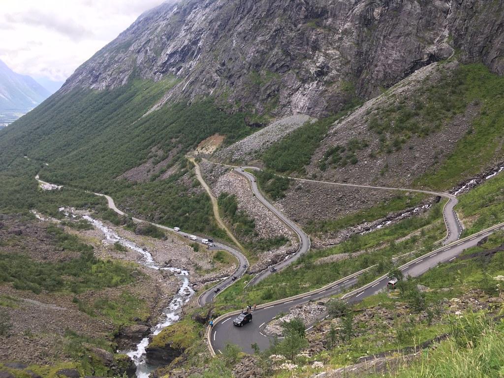 Geiranger - Trollstigen, Norge