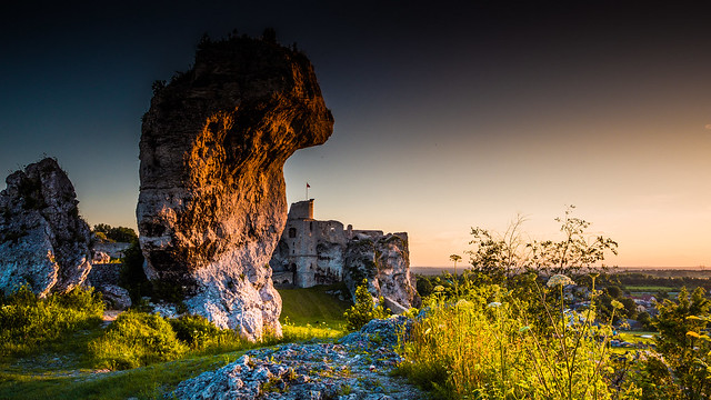 Guardian of the Castle in the Land of the Witcher