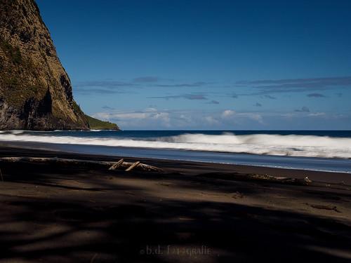 waipiovalley beach bigisland hawaii blacksand longexposure landscape landschaft langzeitbelichtung usa canoneosr canonrf24105 nd haidaneutraldensityndfilters strand sea meer coast