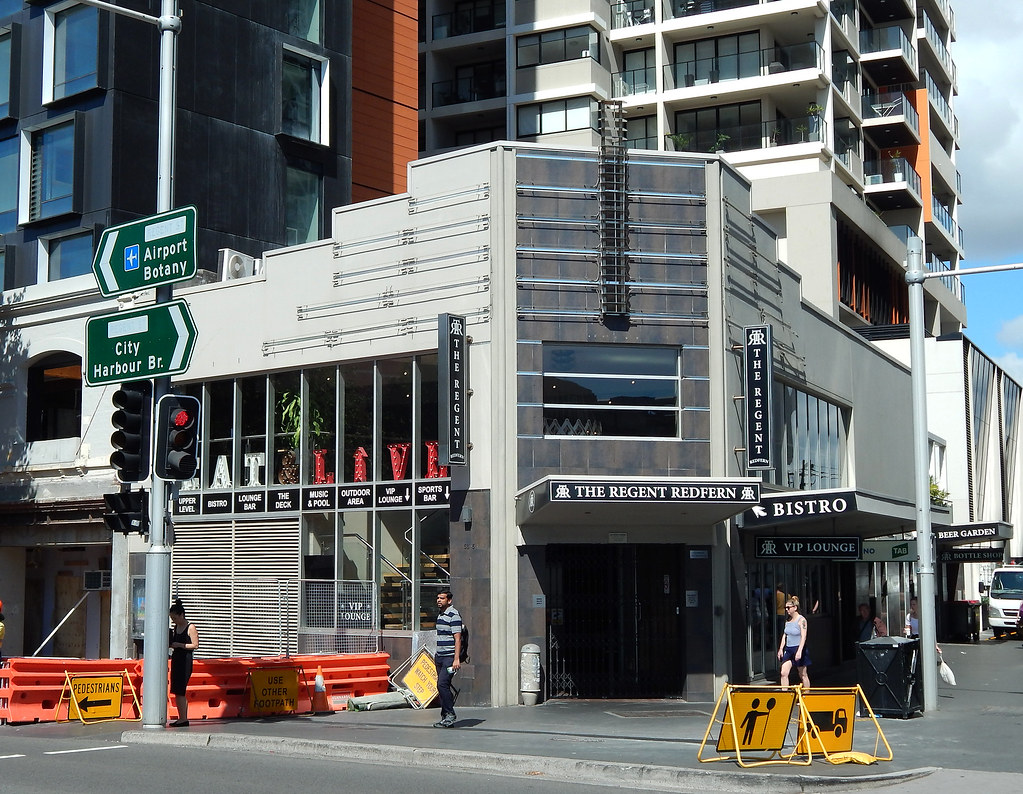 The Regent, Redfern, Sydney, NSW.