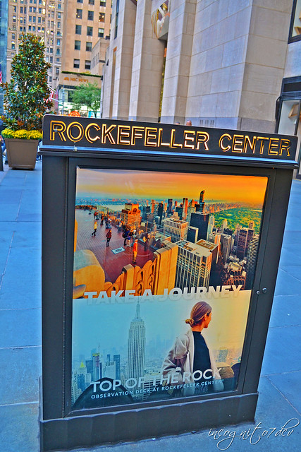 In Rockefeller Center next to Comcast Building 30 Rockefeller Plaza Top of the Rock Midtown Manhattan New York City NY P00603 DSC_9607