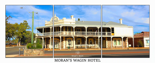 Moran's Wagin Hotel, Cnr Tudor and Tavistock Streets, Wagin, Western Australia  c.1900