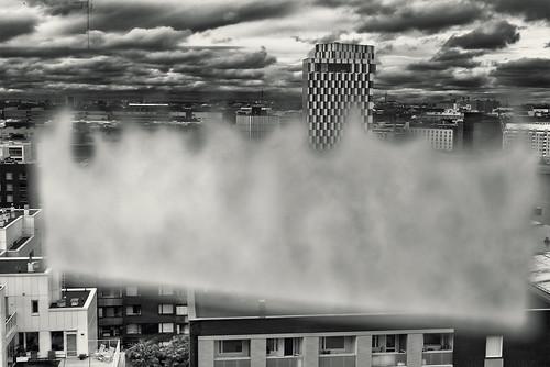monochrome building city view stg through jätkäsaari busholmen helsinki helsingfors finland suomi pekkanikrus skrubu pni