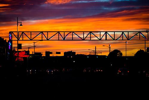 albuquerque america newmexico route66 usa unitedstates unitedstatesofamerica sunset fav10 fav25