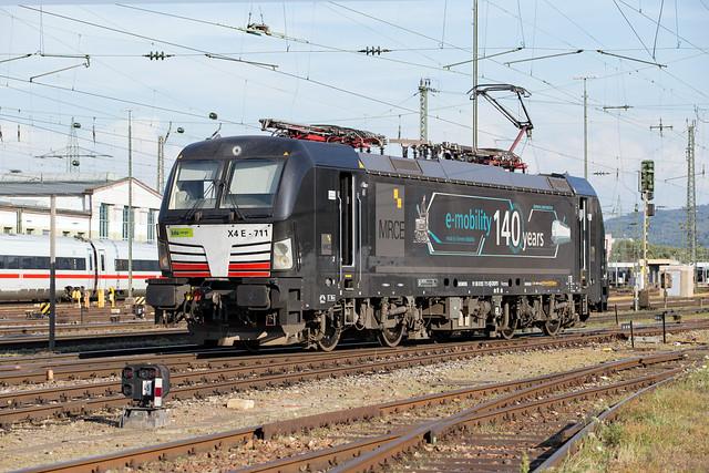 MRCE 193 711 Basel Badischer Bahnhof