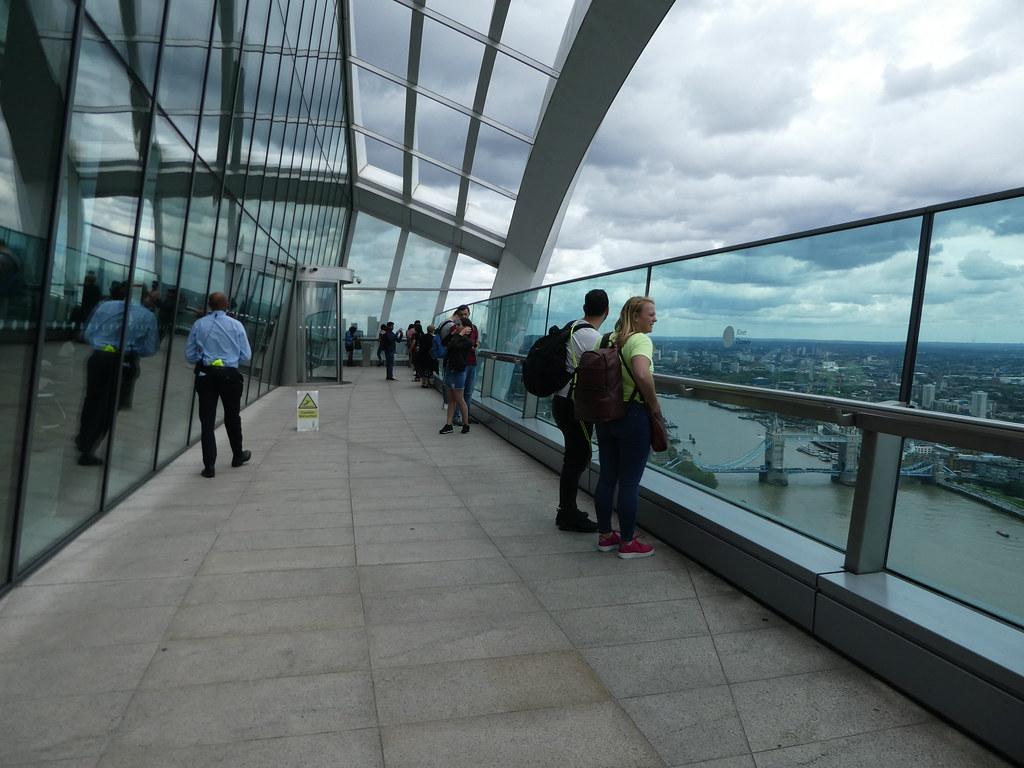 Observation deck Sky Garden
