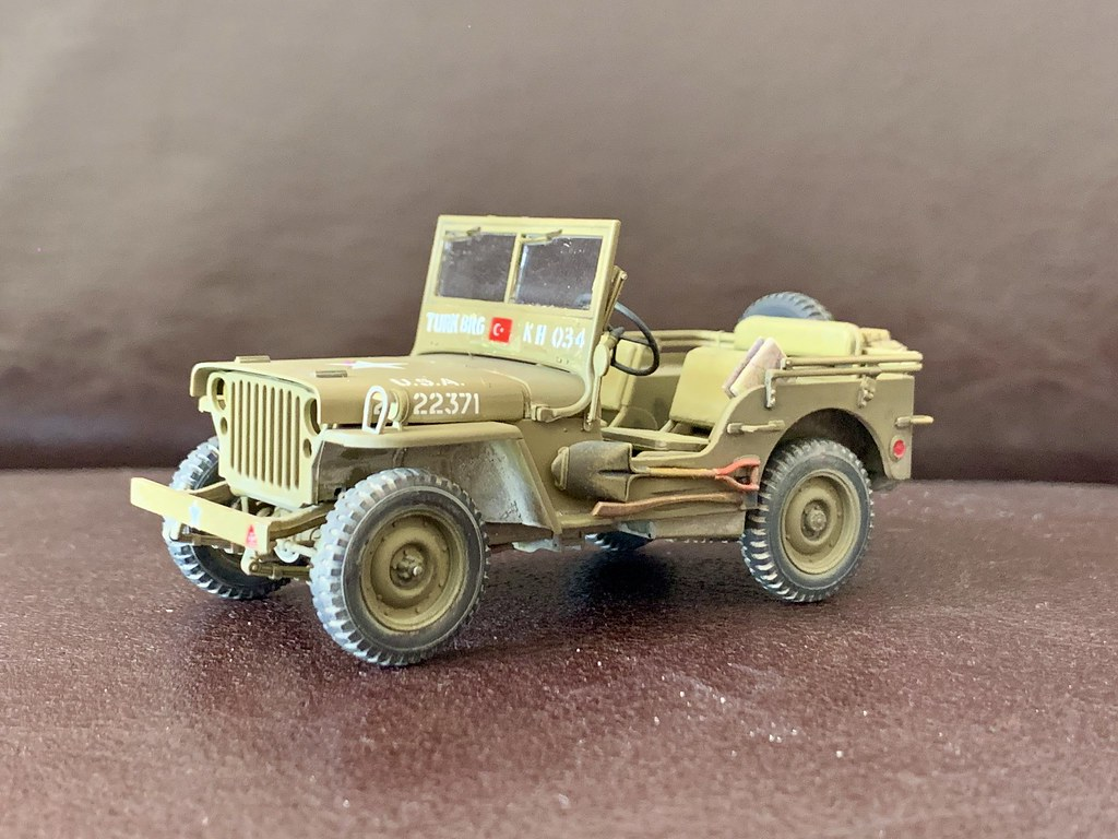 Jeep willys 1/4 ton 4x4 truck Tamiya 1/35