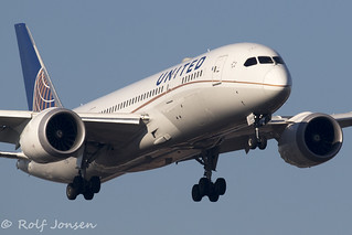 N28912 Boeing 787-8 United Airlines Heathrow Airport EGLL 25.02-19