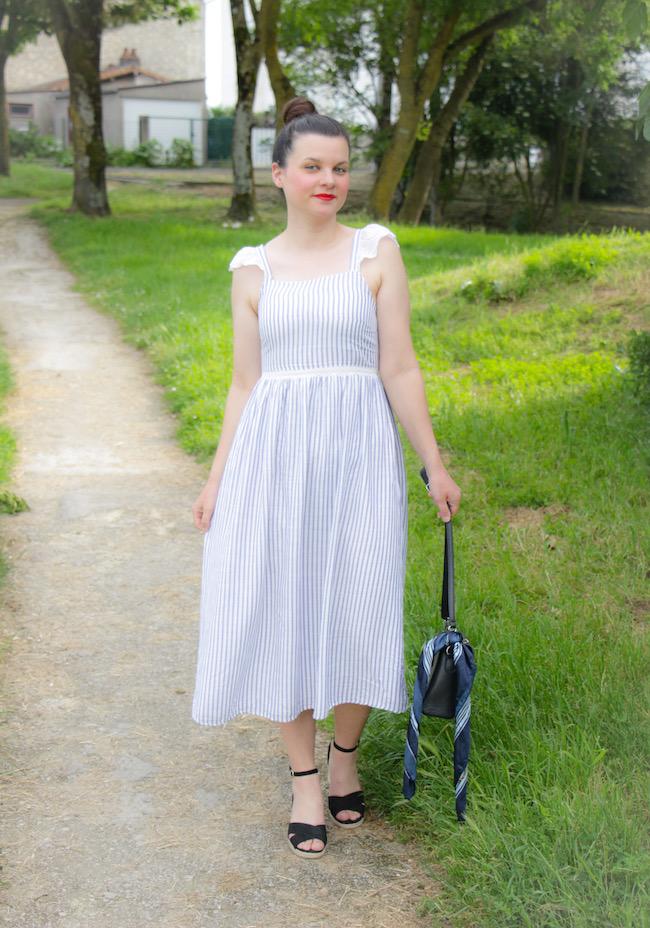 Comment porter du long quand on est de taille moyenne ?