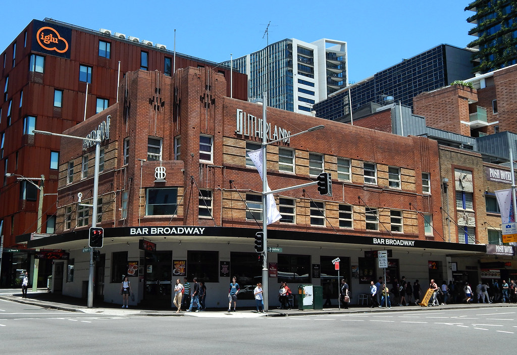 Bar Broadway, Chippendale, Sydney, NSW.
