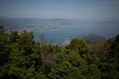 View of Hiroshima from Miyajima, April 2016