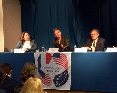 European American Press Club, Margrethe Vestager 2019